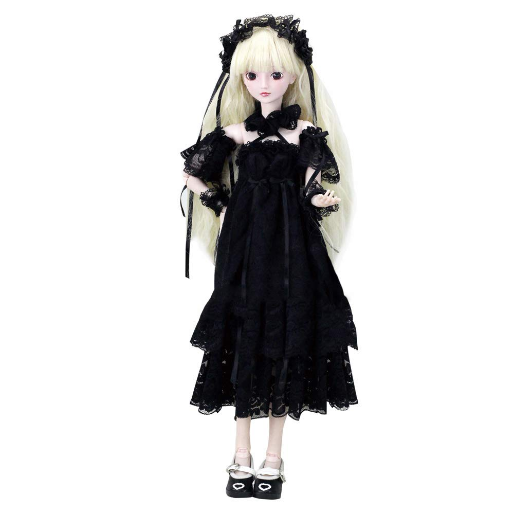 Cecilia Gothic Style 1/3 SD Doll 60cm 24'' Ball Jointed BJD Dolls Full Set Reborn Toy SD Surprise Gift Doll