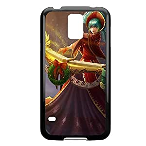 Sona-003 League of Legends LoL case cover Ipod Touch 5 - Plastic Black