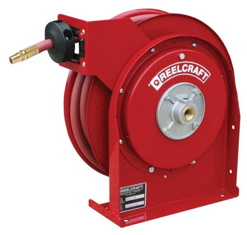 Reelcraft 4435 Olp 0 25  X 35  300 Psi  Premium Duty Air   Water Reel With Hose