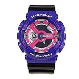 G-Shock GA-110DN Baby-G Series 90's Color Series Luxury Watch - Purple/Black / One Size