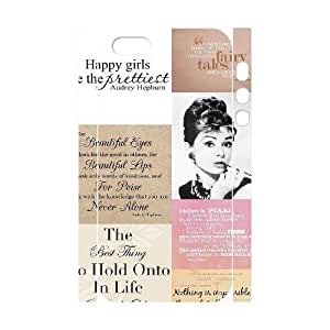 Audrey Hepburn Quotes Brand New 3D Cover Case for Iphone 4s,diy case cover ygtg-780463