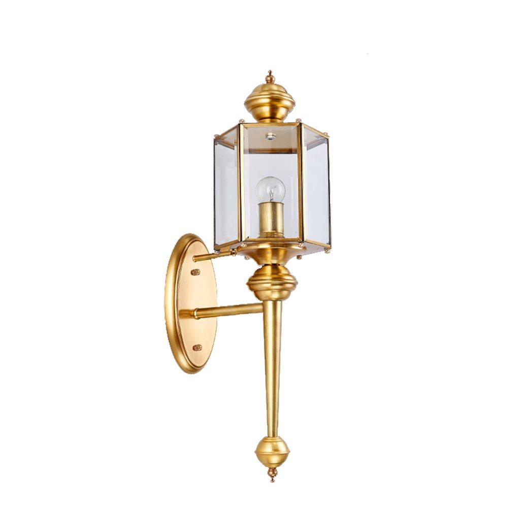 marche online vendita a basso costo Guo Guo Guo Tutti - lampada da parete lampada da parete in rame americano semplice lampada da parete lampada da parete interna lampada da parete esterna di illuminazione balcone  buona qualità