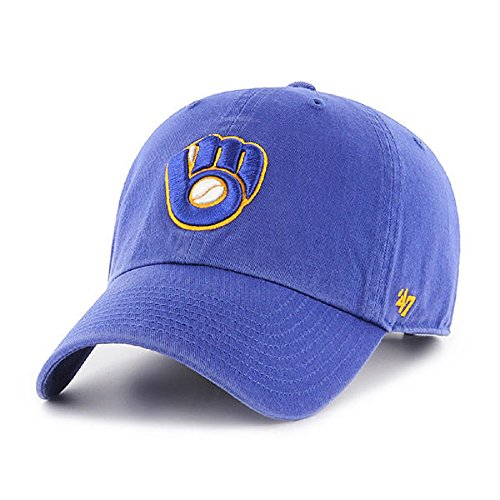 '47 Milwaukee Brewers Royal Clean Clean UP ()