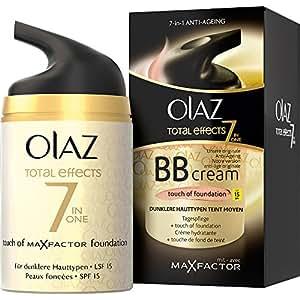 2 x Efectos Olay Crema Día Total oscuro piel cada 50 ml