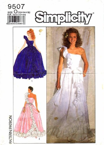 80s prom dress patterns - 5