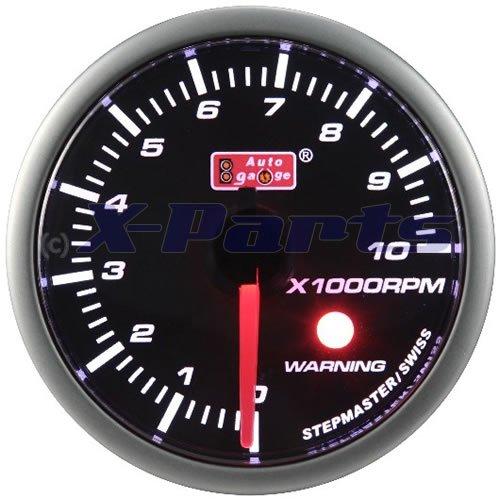52 mm Stepper Contagiri 0 –  10000 giri/min benzina Auto Gauge