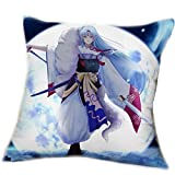 Touirch Anime Inuyasha Birthday Gift Sesshoumaru Case Sleeping Cosplay Pillow