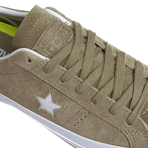 Converse Trainers - Converse One Star Shoes - Sandy/White