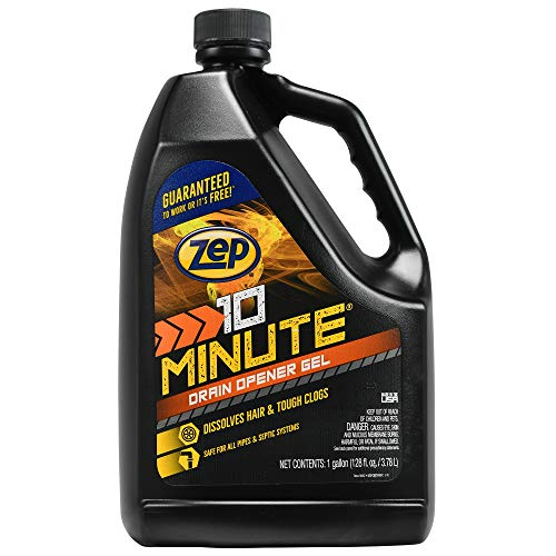 Zep Commercial ZHCR128NG 1 Gallon 10 Minute Hair Clog Remover ()