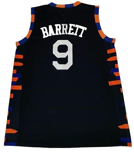 best sneakers bdc3c 66808 Amazon.com : MBCQ Men-R.J.-Barrett-9-New-York-Knicks-2019/20 ...