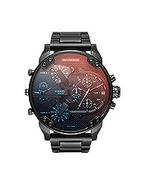 Diesel Men's DZ7395 Mr. Daddy 2.0 Black IP Watch