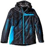 Spyder Boys Reckon 321 Jacket, Small, Space/Electric Blue Print/Polar