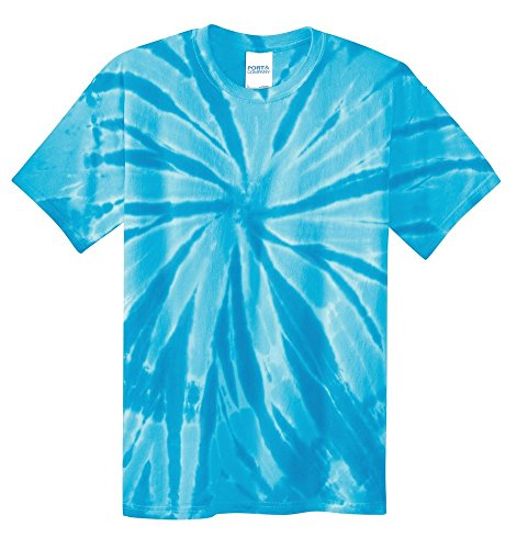 Blackout Tee's blPC147Yspts - Youth Tie-Dye Tee. Turquoise S