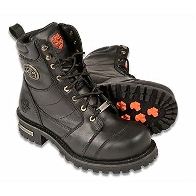 """Milwaukee MBM9030-BLK-15 Men's 8"""" Classic Logger Boots (Black, Size 15): Automotive"""