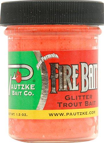Pautzke Fire Bait, Garlic Salmon Egg, 1.5 oz. ()