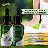 (2-Pack) Hemp Oil Extract for Pain & Stress