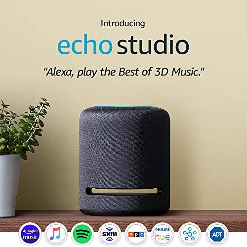 Echo Studio High-fidelity smart
