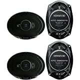 4 New Kenwood KFC-6995PS 6x9 1300 Watt 5-Way Car Audio Coaxial Speakers Stereo