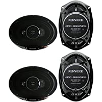 4) New Kenwood KFC-6995PS 6x9 1300 Watt 5-Way Car Audio Coaxial Speakers Stereo