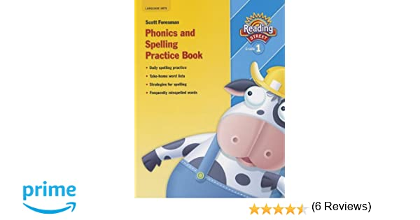 Reading Street 2007, Grade 1: Phonics and Spelling Practice Book ...