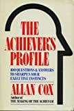 The Achiever's Profile, Allan Cox, 0814457967