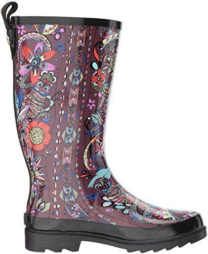 Boot Spirit Cabernet Rain Rhythm Desert Women's Sak The z8wCaWqFx