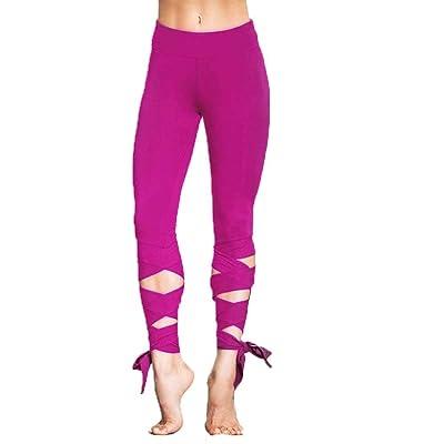 Pingrog Leggings Deportivos para Mujeres Pantalones De Pantalones con con Fitness Estilo único De Ballet De Yoga Pantalones De Entrenamiento Medias De Estiramiento Deporte Y Ocio: Ropa y accesorios