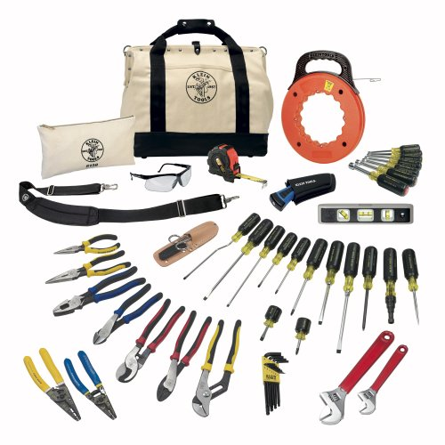 Klein Tools 80141 Journeyman Tool Set (41-Piece) by Klein Tools