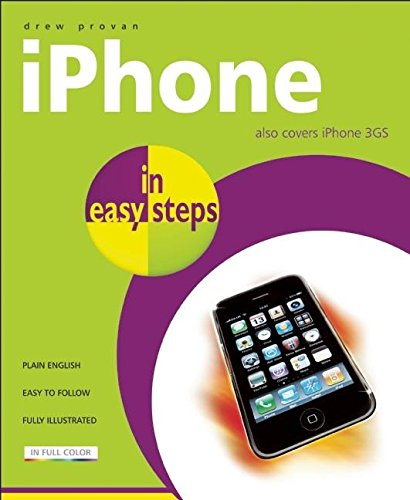 Read Online iPhone in easy steps: Also Covers the iPhone 3GS pdf