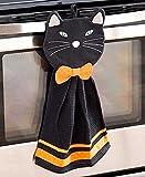 : 2-Pc. Halloween Kitchen Set (Black Cat)