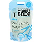 Molly's Suds Natural Free & Clear Hypoallergenic Liquid Laundry Detergent, Unscented - 50 loads