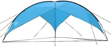 Carpa Triangular Grande - Playa al Aire Libre Pesca Deportiva Sombrilla Pérgola Familia Auto-conducción Camping Viaje Carpa portátil: Amazon.es: Deportes y aire libre