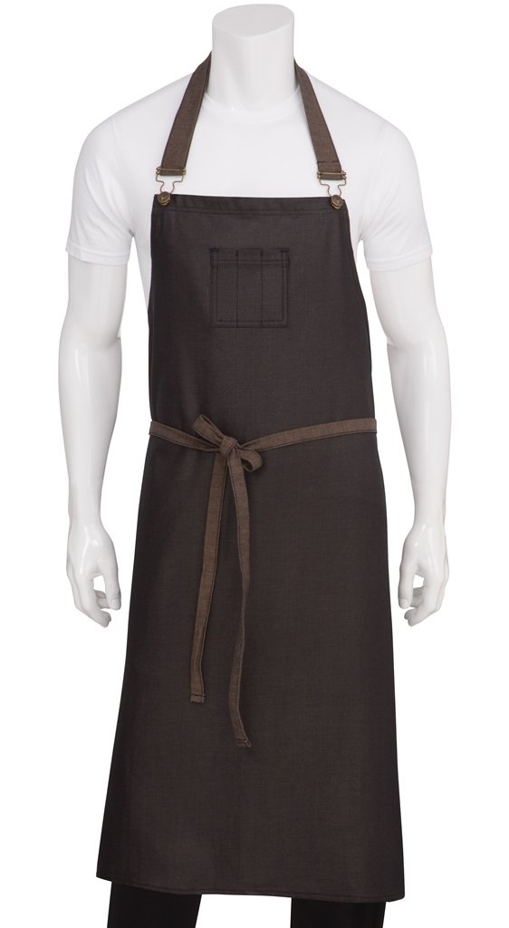 Chef Works Boulder Chefs Bib Apron (ABCWT001) Chef Works Apparel ABCWT001-BNB-0