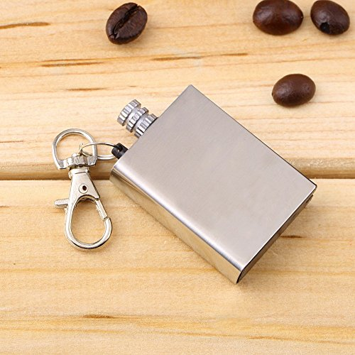 Natural Green Range Gas - Emergency Fire Starter Flint Match Lighter Metal Outdoor Camping Hiking Instant Survival Tool Safety Durable hot