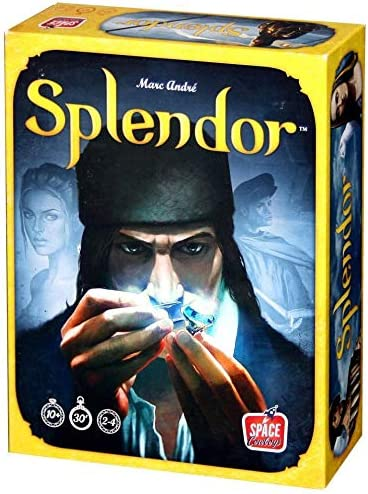 Asmodee Splendor Versi/ón importada ingl/és Juego de estrategia
