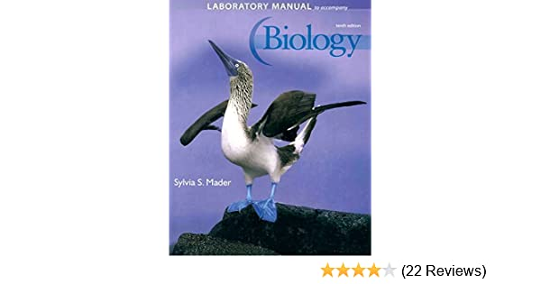 amazon com laboratory manual to accompany biology 9780077226176 rh amazon com Sylvia Mader Biology 11th Edition McGraw-Hill Biology Textbook