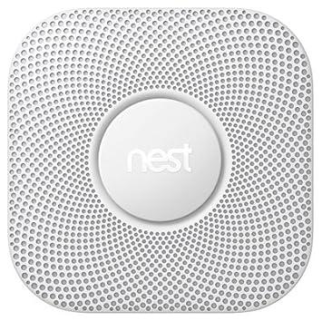 Nest Protect Smoke Carbon Monoxide Alarm, Battery 2nd gen