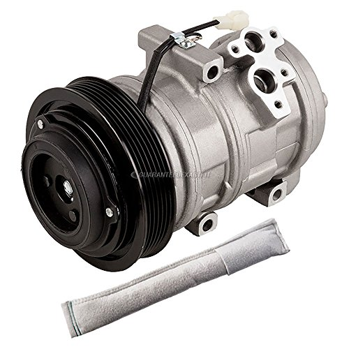 AC Compressor w/A/C Drier For Mazda MPV 2000 2001 2002 2003 2004 2005 2006 - BuyAutoParts 60-88883R2 New