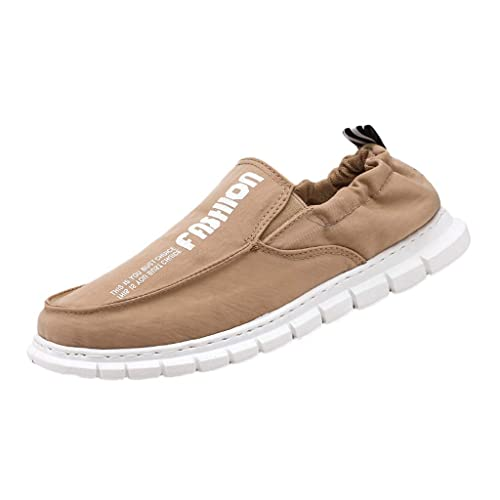 LHWY Zapatillas Mocasines de Deportes Zapatos de Lona de los Hombres del Verano Zapatillas de Deporte Ocasionales Respirables Salvajes Zapatillas de ...