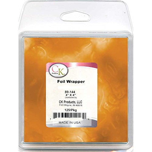 CK Products 89-144G Foil Wrappers, 4