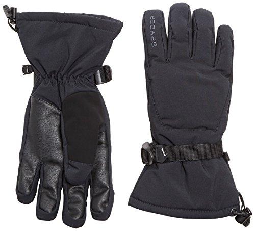 UPC 889212076528, Spyder Men's Essential Gloves, Large, Black/Black