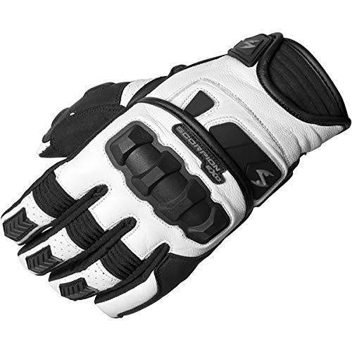 Motorcross Leather - ScorpionExo Men's Klaw II Gloves(White, X-Large), 1 Pack