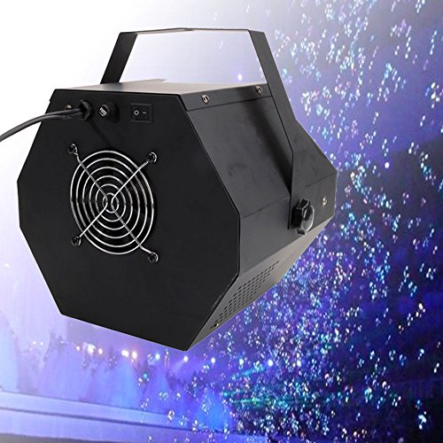 25W Black Bubble Machine Automatic Maker Kids DJ DISCO Party Stage Wedding -