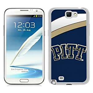 Beautiful And Unique Designed Case For Samsung Galaxy Note 2 N7100 With NCAA Atlantic Coast Conference ACC Footballl Pittsburgh Panthers 1 white Phone Case