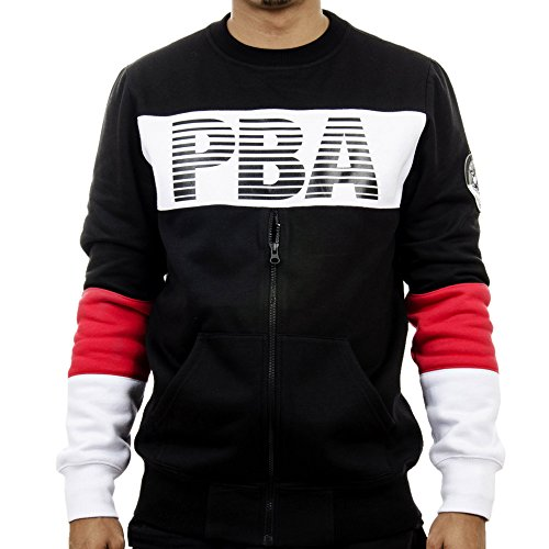 Planet Brooklyn Academy Men's Graphic 'Half Zip' Sweatshirt