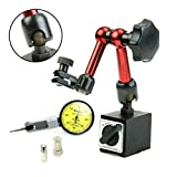 Flexible Magnetic Matel Holder Stand & Dial Test Indicator Gauge Scale Precision