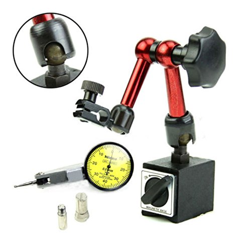 Flexible Magnetic Matel Holder Stand & Dial Test Indicator Gauge Scale Precision from Unknown