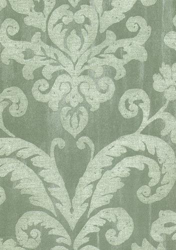 papel de parede bobinex classique arabesco verde