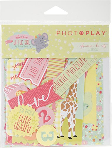 Photo Play Paper About A Little Girl Ephemera Cardstock ()