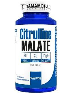 Yamamoto Nutrition Citrulina Malate Suplemento Alimenticio - 90 Tabletas